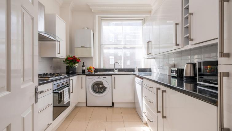 Kitchen at South Kensington Glendower Apartments - Citybase Apartments