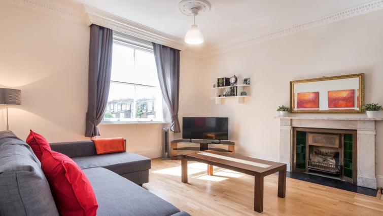 Living room at South Kensington Glendower Apartments - Citybase Apartments