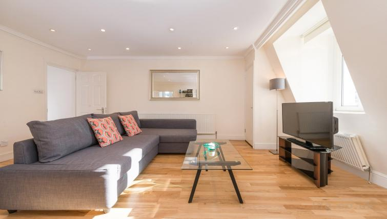 Sofa at South Kensington Glendower Apartments - Citybase Apartments