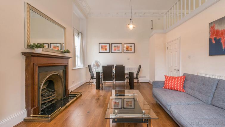 Dining area at South Kensington Glendower Apartments - Citybase Apartments