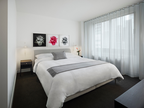 Bed at AKA United Nations, Midtown East, New York - Citybase Apartments