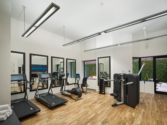 Fitness centre at AKA United Nations, Midtown East, New York - Citybase Apartments