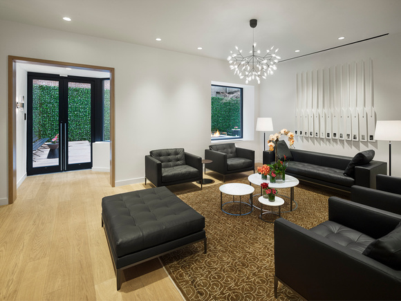 Lounge at AKA United Nations, Midtown East, New York - Citybase Apartments