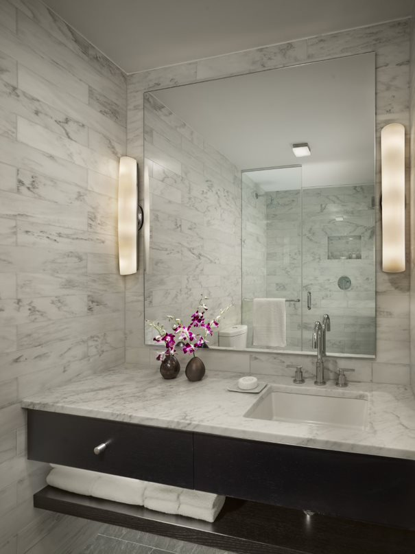 Bathroom at AKA United Nations, Midtown East, New York - Citybase Apartments