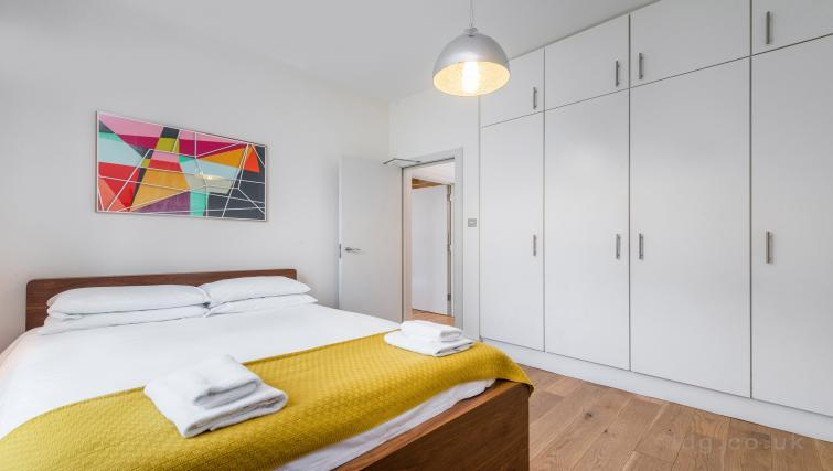 Bedroom at Theobalds Road Apartment - Citybase Apartments