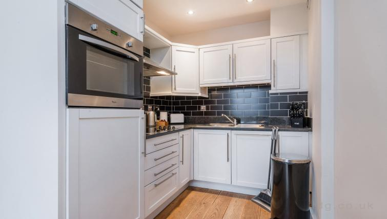 Kitchen at Theobalds Road Apartment - Citybase Apartments