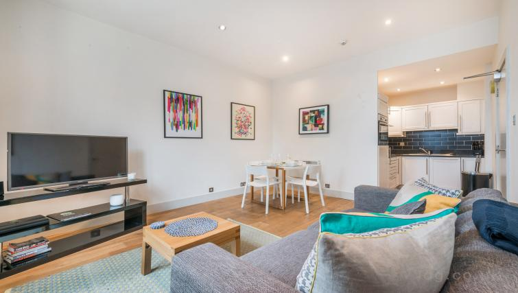 TV at Theobalds Road Apartment - Citybase Apartments
