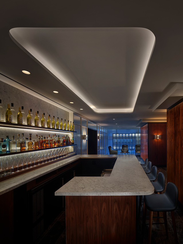 Bar/lounge at AKA Central Park, Midtown East, New York - Citybase Apartments
