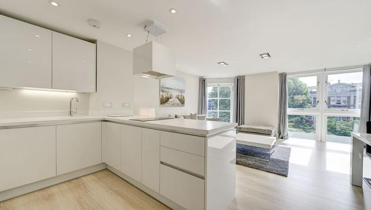 Kitchen at Maltings Place Apartments - Citybase Apartments