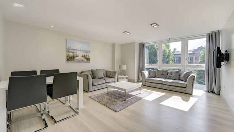 Lounge at Maltings Place Apartments - Citybase Apartments