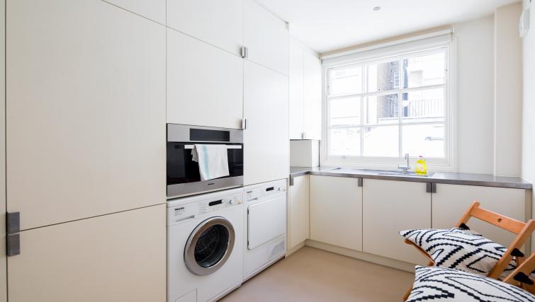 Kitchen at the Chelsea Villa Apartment - Citybase Apartments