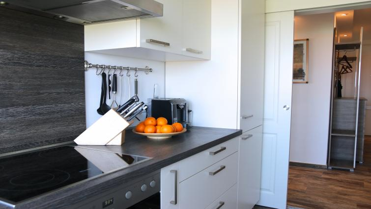 Kitchen facilities at Volkartstraße Apartment - Citybase Apartments