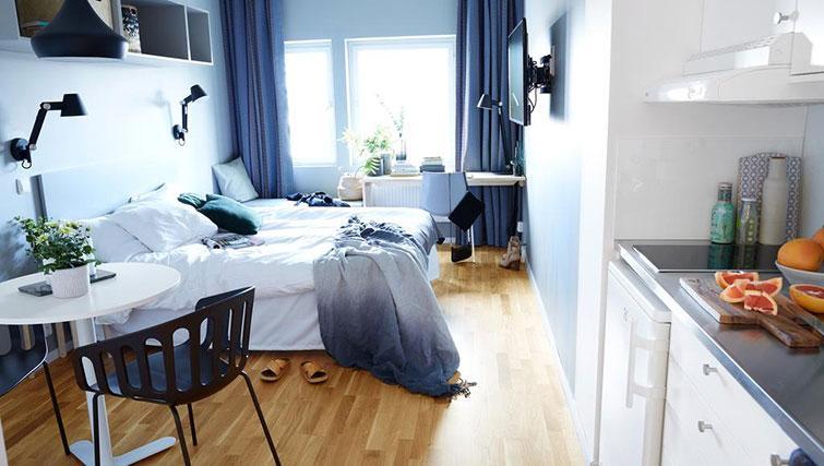 Bright apartment at Forenom Aparthotel Stockholm Kista - Citybase Apartments