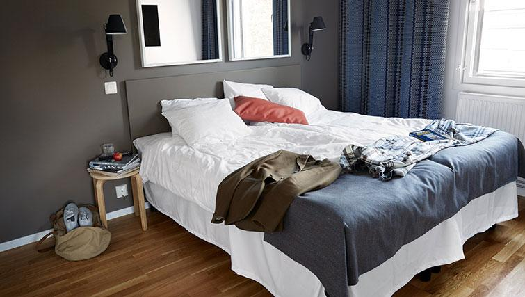Bedroom at Forenom Aparthotel Stockholm Kista - Citybase Apartments