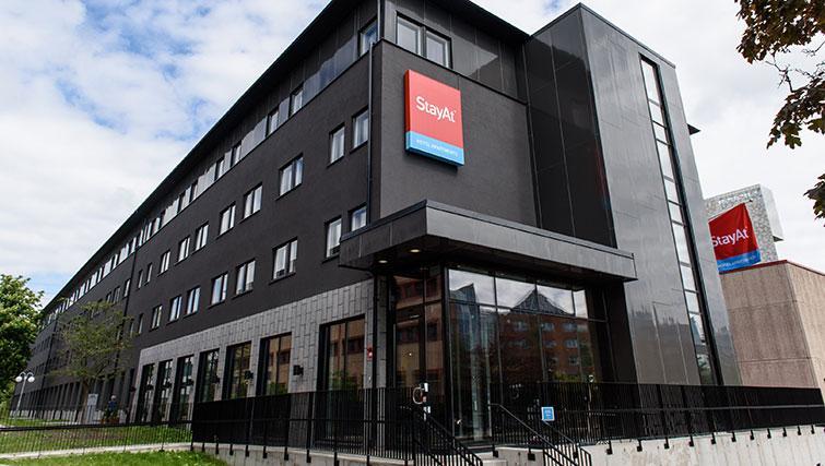 Exterior at Forenom Aparthotel Stockholm Kista - Citybase Apartments