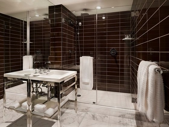 Bathroom at AKA Sutton Place, Midtown East, New York - Citybase Apartments