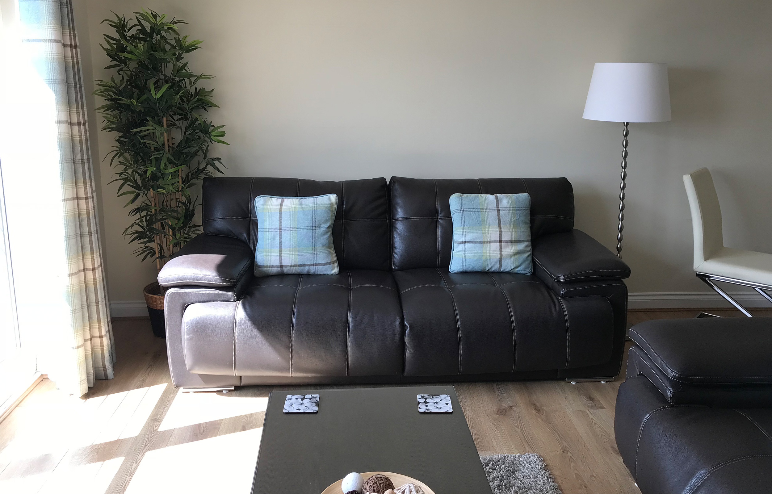 Sofa at Minerva Apartment - Citybase Apartments