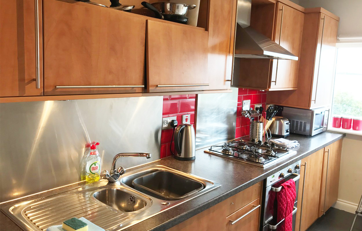 Kitchen at Minerva Apartment - Citybase Apartments