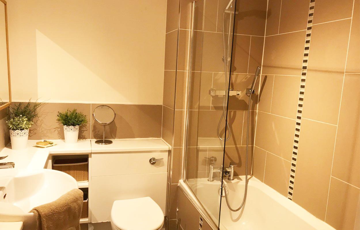 Bathroom at Minerva Apartment - Citybase Apartments