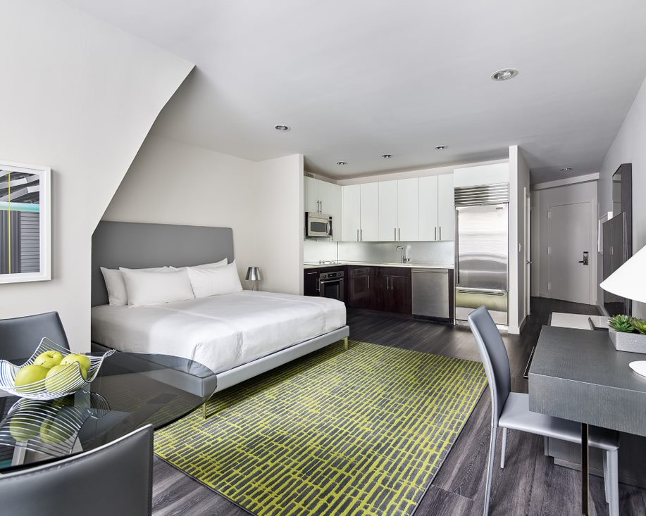Premium studio at AKA Times Square, Times Square, New York - Citybase Apartments