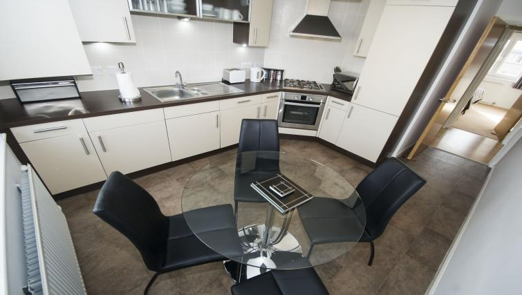 Dining table at Portland Street Aberdeen Apartments - Citybase Apartments