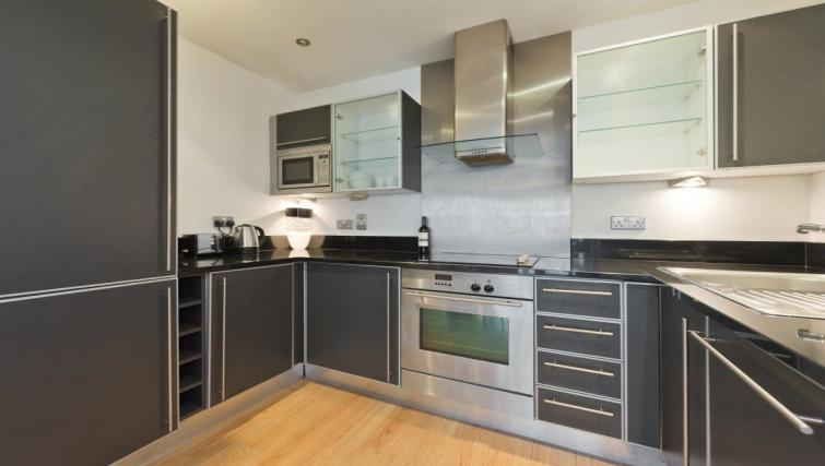 Kitchen at the Grand Canal Square 16 Apartment - Citybase Apartments