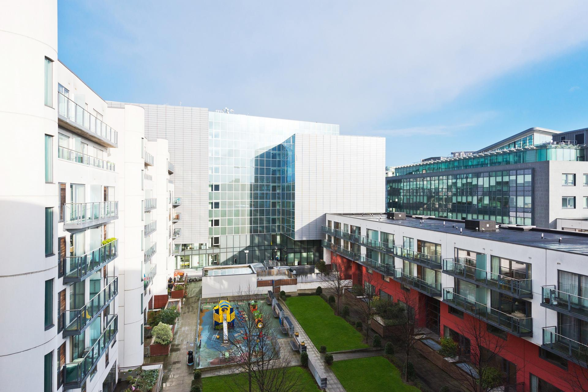 Exterior view at Grand Canal Square 16 Apartment - Citybase Apartments
