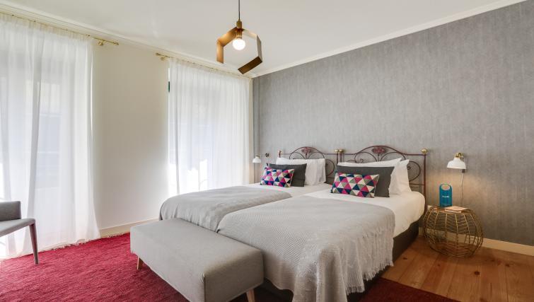 Beds at the Santa Marta Apartments - Citybase Apartments