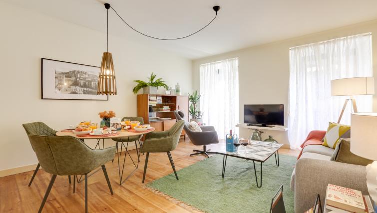 Lounge at the Santa Marta Apartments - Citybase Apartments
