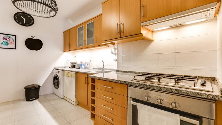 Kitchen at the Santa Marta Apartments - Citybase Apartments