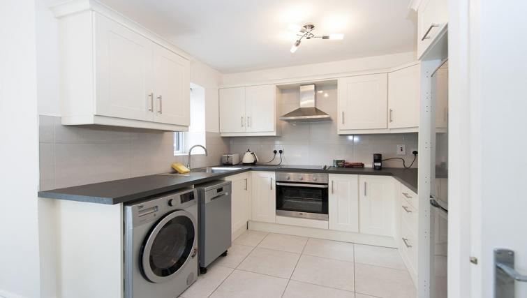 Kitchen at Eastmoreland Court Serviced Apartment - Citybase Apartments