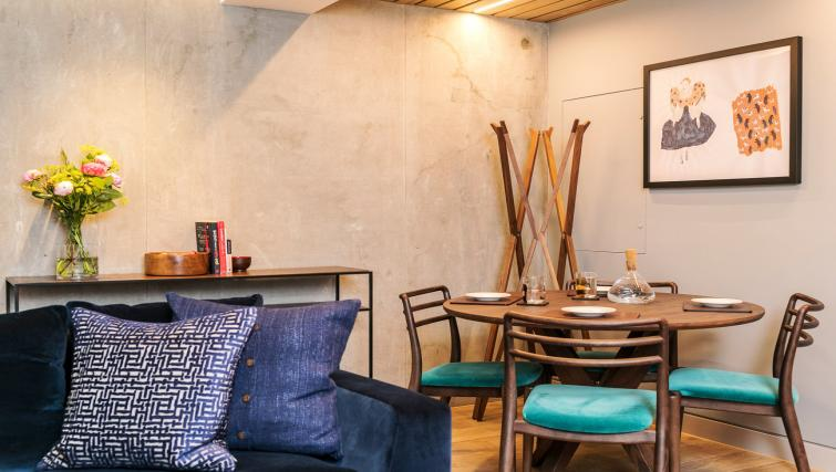 Dining area at Native Bankside Apartments - Citybase Apartments