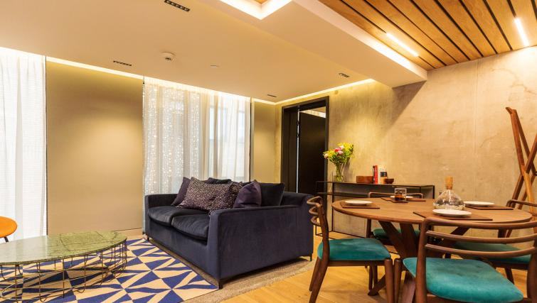 Stylish lounge at Native Bankside Apartments - Citybase Apartments