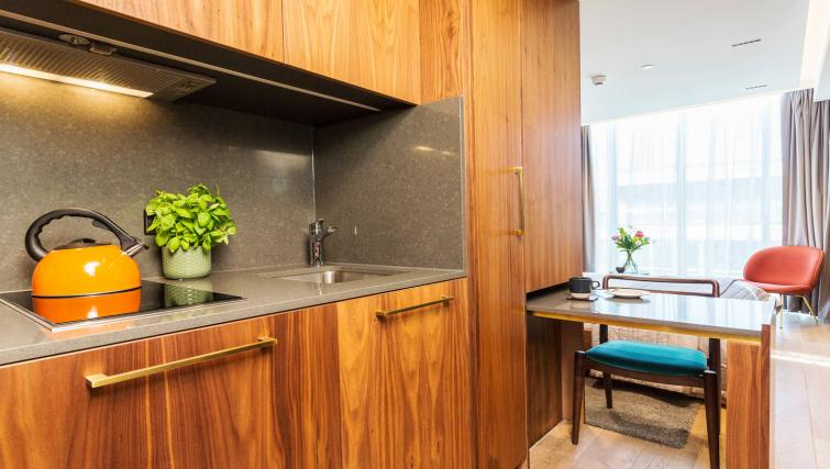 Kitchen at Native Bankside Apartments - Citybase Apartments