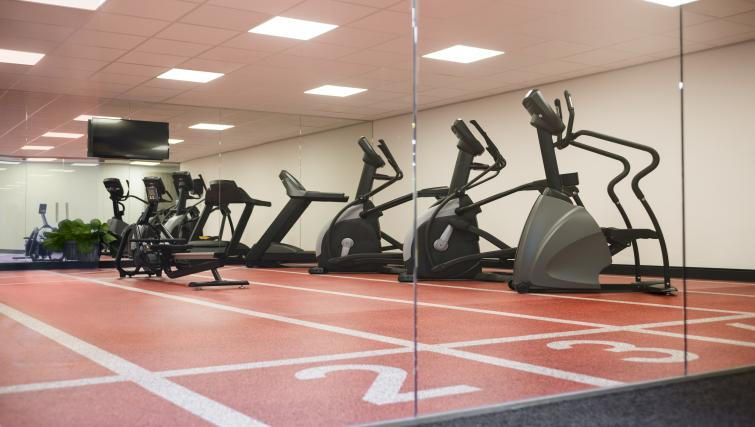 Gym at the Adagio Amsterdam City South Apartments - Citybase Apartments