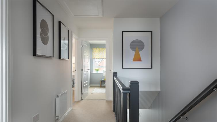 Hallway at Coventry Scandi House - Citybase Apartments