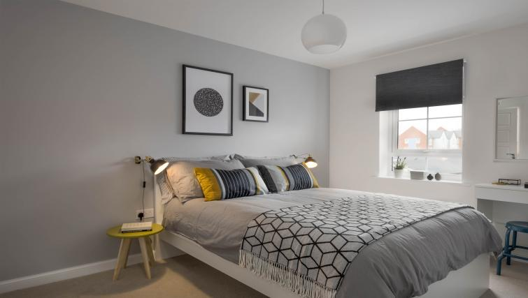 Bedroom at Coventry Scandi House - Citybase Apartments