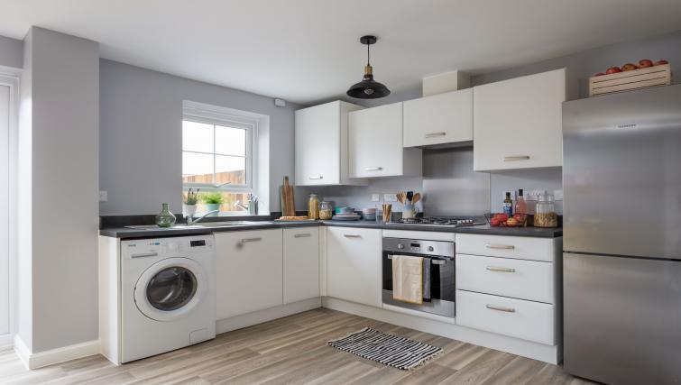 Kitchen at Coventry Scandi House - Citybase Apartments