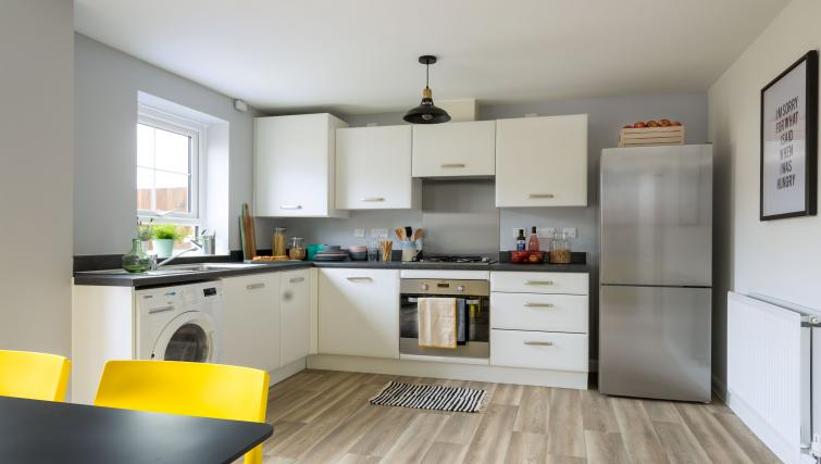 Kitchen facilities at Coventry Scandi House - Citybase Apartments