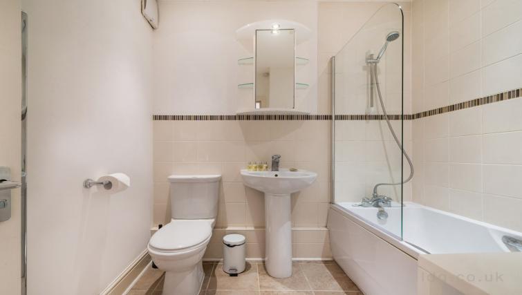 Bathroom at Foley Street Apartments - Citybase Apartments