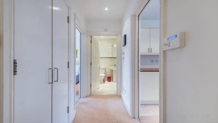 Hallway at Foley Street Apartments - Citybase Apartments