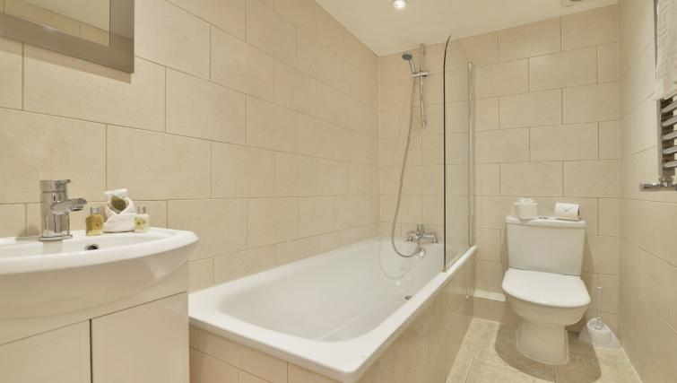 Bath at Great Titchfield Street Apartment - Citybase Apartments