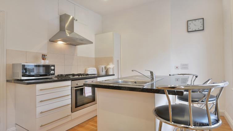 Kitchen at Great Titchfield Street Apartment - Citybase Apartments