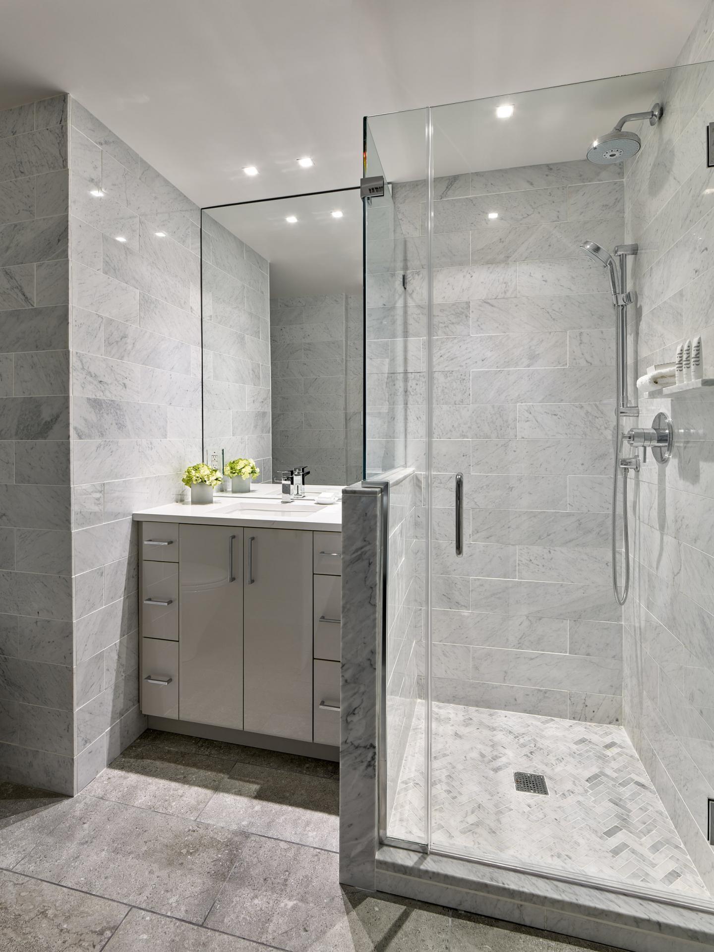 Bathroom at AKA Rittenhouse Square - Citybase Apartments