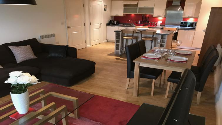 Lounge at the Solihull Centre Apartments - Citybase Apartments