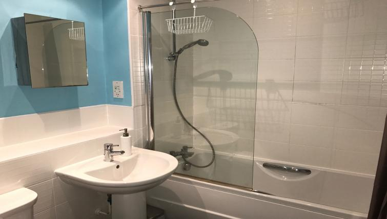 Bathroom at the Solihull Centre Apartments - Citybase Apartments