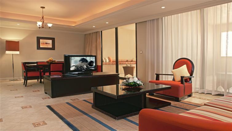 Lounge at the Arjaan Dubai Media City Apartments - Citybase Apartments
