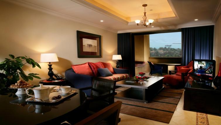 Living area at the Arjaan Dubai Media City Apartments - Citybase Apartments