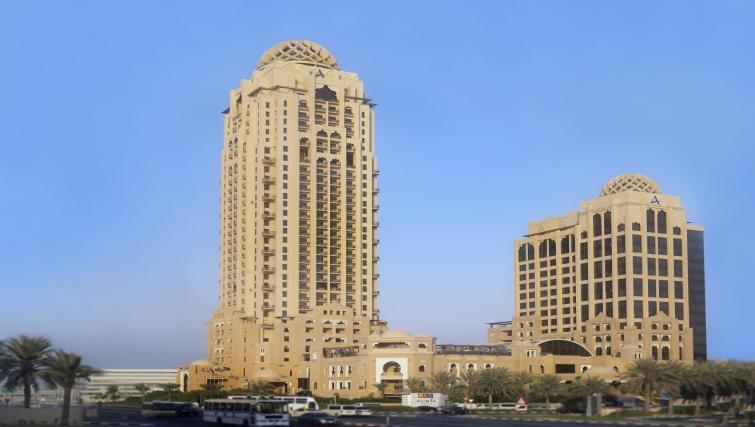 Exterior at the Arjaan Dubai Media City Apartments - Citybase Apartments