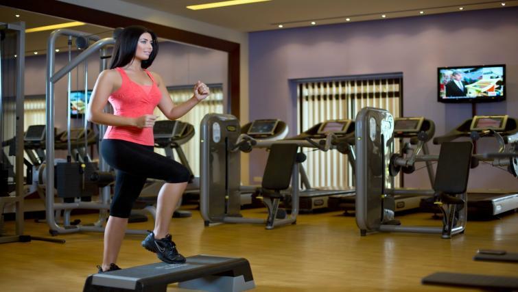 Gym at the Arjaan Dubai Media City Apartments - Citybase Apartments